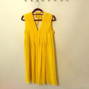 Sisley Yellow size 6 dress